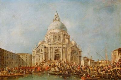 The Doge of Venice at the Festa Della Salute