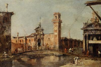 The Entrance to the Arsenal in Venice, after 1776