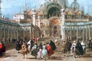 The Feast of Ascension in the Piazza San Marco, C1775 by Francesco Guardi