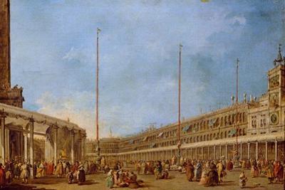 The Procession of the Corpus Domini Through St. Mark's Square, C.1766-70