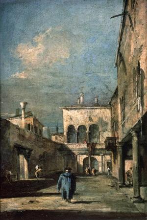 Venetian Courtyard, 1770s