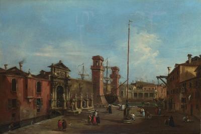 Venice, the Arsenal, 1755-1760
