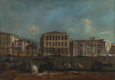 Venice, the Grand Canal with Palazzo Pesaro, 1755-1760