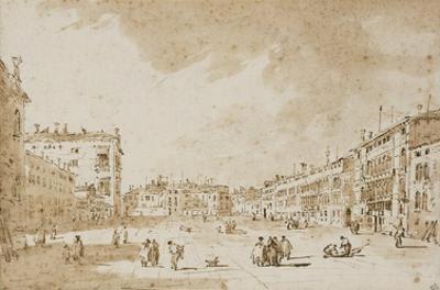 View of Campo San Polo, Venice, ca. 1790
