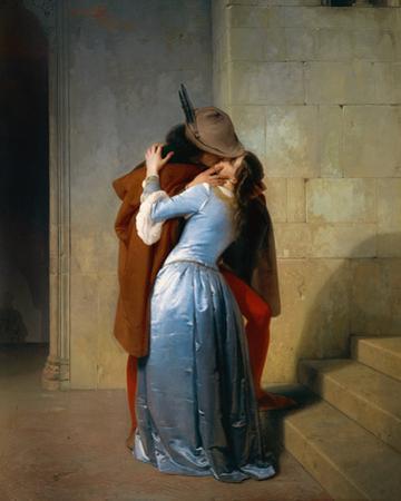 Der Kuss by Francesco Hayez