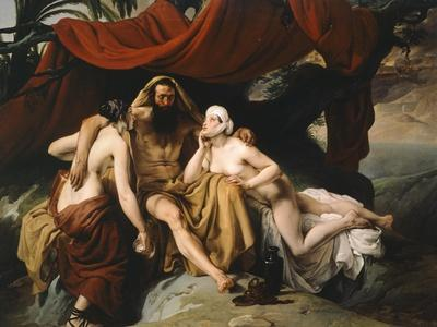 Loth and His Daughters, 1833