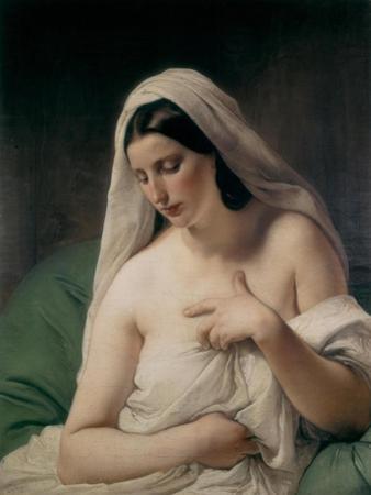 Odalisque by Francesco Hayez