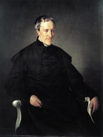 Portrait of Antonio Rosmini Serbati by Francesco Hayez