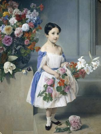 Portrait of Countess Antonietta Negroni Prati Morosini, 1858 by Francesco Hayez