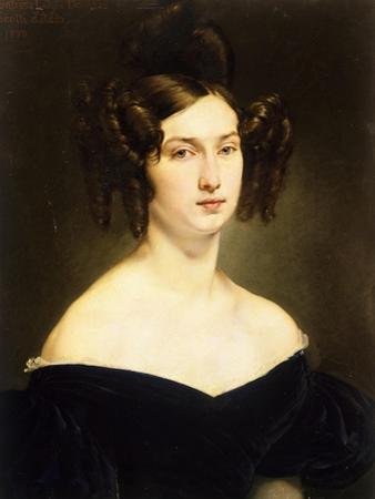 Portrait of Countess Luigia Douglas Scotti D'Adda by Francesco Hayez