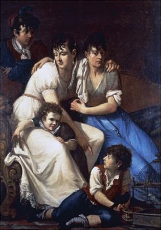 Portrait of the Painter's Family, 1807 by Francesco Hayez