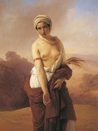 Ruth, 1853 by Francesco Hayez