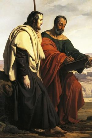 The Apostles Philip and James on their Way to their Preaching, That Is, Two Exiled Patriots by Francesco Hayez