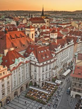 Europe, Czech Republic, Central Bohemia Region, Prague, Prague Old Town Square by Francesco Iacobelli