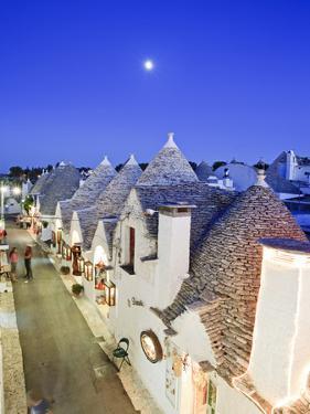 Italy, Apulia, Bari District, Itria Valley, Alberobello, Trulli (Typical Houses) by Francesco Iacobelli