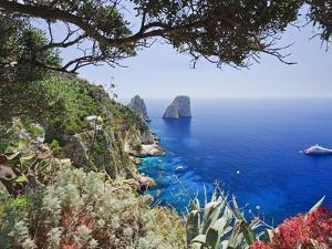 Italy, Campania, Napoli District, Capri, Faraglioni by Francesco Iacobelli