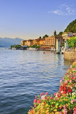 Italy, Lombardy, Como District. Como Lake, Bellagio. by Francesco Iacobelli