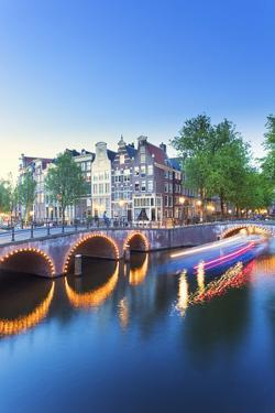 Netherlands, North Holland, Amsterdam. Keizersgracht the Canal by Francesco Iacobelli