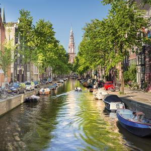 Netherlands, North Holland, Amsterdam. the Zuiderkerk Bell Tower by Francesco Iacobelli