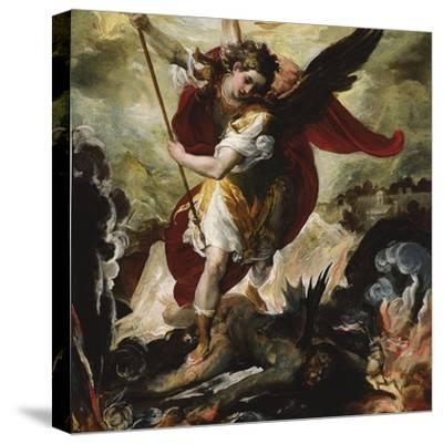 Saint Michael Vanquishing Satan by Francesco Maffei