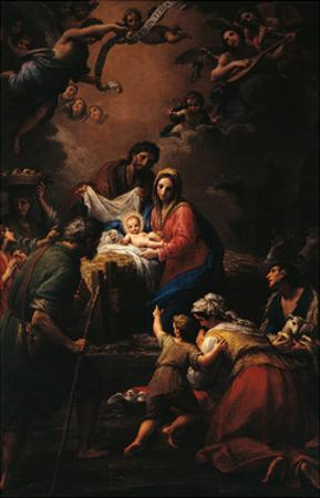 Nativity by Francesco Mancini