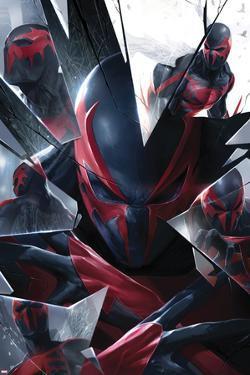 Spider-Man 2099 No. 5 Cover by Francesco Mattina