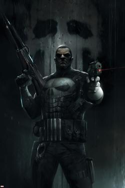 The Punisher No. 1 Cover Art by Francesco Mattina