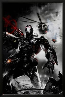 War Machine No.2 Cover: War Machine by Francesco Mattina