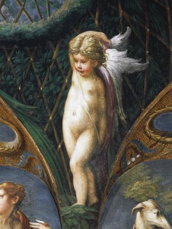 Cherub, From Myth Of Diana And Actaeon, 1524 By Francesco Mazzola
