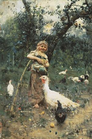 The Guardian of the Chickens, 1877