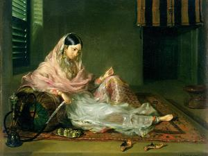 Muslim Lady Reclining, 1789 by Francesco Renaldi