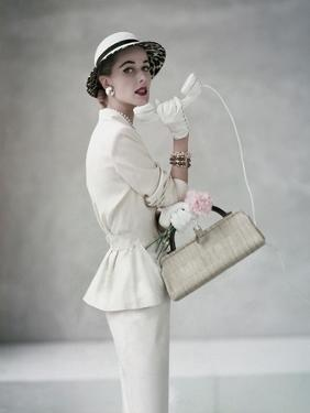 Glamour - April 1953 by Francesco Scavullo