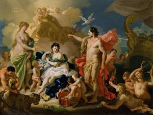 Bacchus and Ariadne by Francesco Solimena