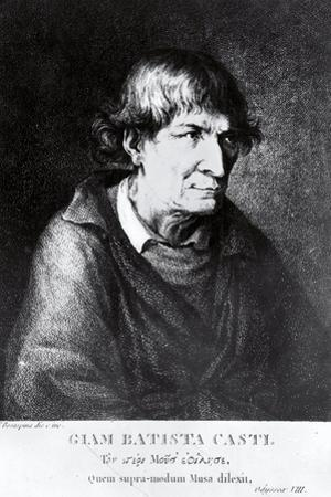 Portrait of Italian Poet and Writer, Giovan Battista