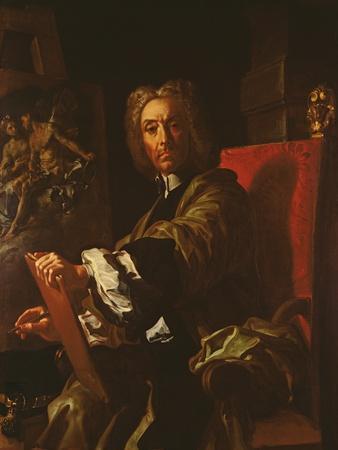 Self Portrait, 1730-31