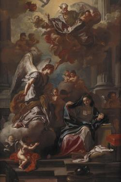 The Annunciation by Francesco Solimena