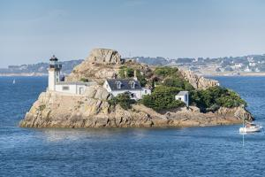 Ile Louet, Carantec, Finistere, Brittany, France, Europe by Francesco Vaninetti
