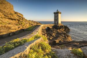 Kermorvan lighthouse, Le Conquet, Finistere, Brittany, France, Europe by Francesco Vaninetti
