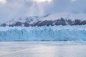 Southern terminus of Perito Moreno glacier under a moody sky, Argentina by Francesco Vaninetti