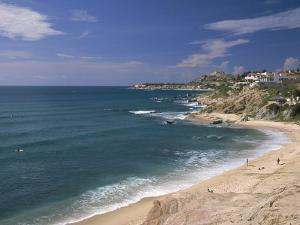 Between Cabo San Lucas and San Jose Del Cabo by Francie Manning