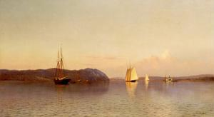 Late Afternoon, Haverstraw Bay, 1871 by Francis Augustus Silva