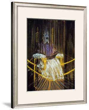 Etude d'Apres le Portrait du Pape Innocent X par Velasquez, c.1953 by Francis Bacon