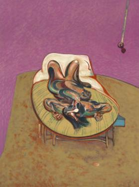 Personnage Couche, 1966 by Francis Bacon