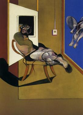 Seated Figure, c.1974 by Francis Bacon