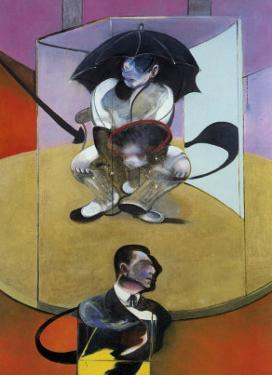 Seated Figure, c.1978 by Francis Bacon