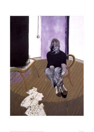 Self Portrait Seated, c.1973 by Francis Bacon