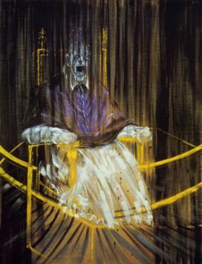 Study after Velazquez's Portrait of of Pope Innocent X, c.1953 by Francis Bacon