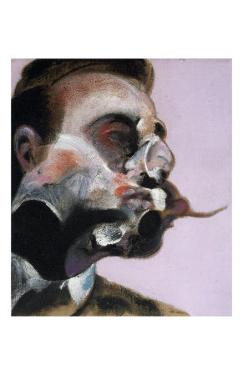 Study for a Portrait of George Dyer, c.1969 by Francis Bacon