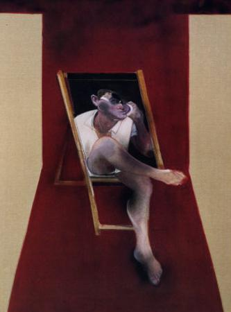Study for a Portrait of John Edward, c.1989 by Francis Bacon