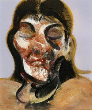 Study of Henrietta Moraes, c.1969 by Francis Bacon
